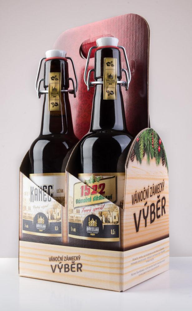 4pack ze Zámeckého pivovaru Břeclav