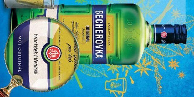 Becherovka nabídla personalizovanou lahev