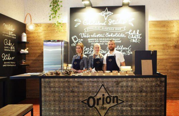 Nestlé zve do Čokoládového studia Orion
