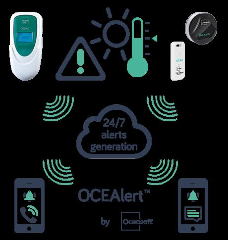 OCEAlert s dataloggery pro sledování obalů
