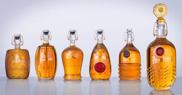 Aukce lahví Pilsner Urquell  vynesla 1 683 145 korun
