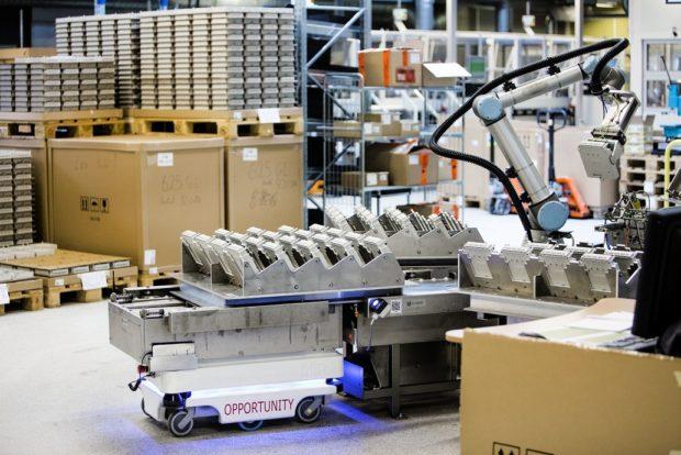 Tržby Mobile Industrial Robots skokově vzrostly