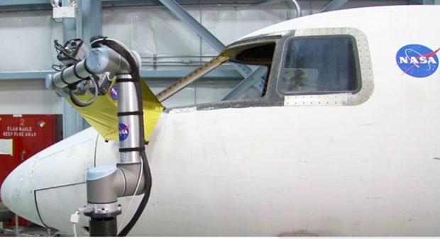 NASA využívá roboty Universal Robots