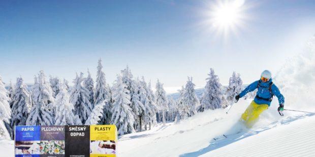 Čistý festival EKO-KOM na sněhu
