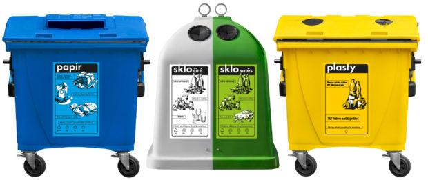 Češi se ve třídění odpadů zlepšili