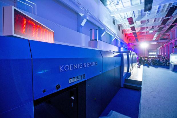 Koenig & Bauer 4.0: digitalizace v obalech