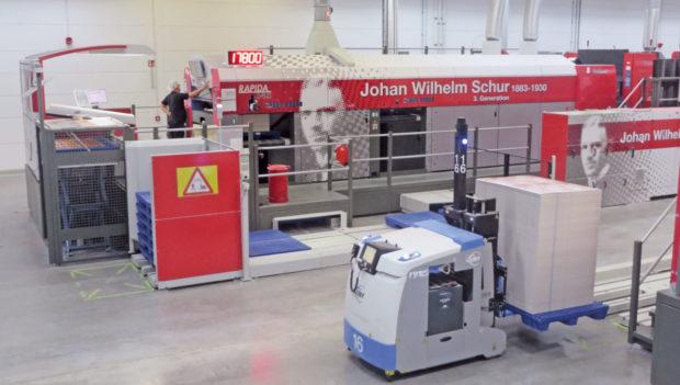 Firma Schur Pack Germany nasadila aplikaci pro správu skladu a sledování šarží