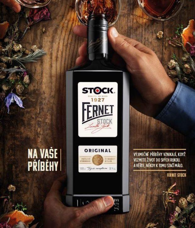Stock Plzeň-Božkov uvádí na trh Fernet Stock v láhvi s novým designem