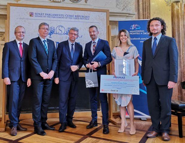 V soutěži Přeměna odpadů na zdroje zabodovala společnost Panattoni Europe