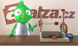 Alza zapůjčí 3D tiskárny do škol