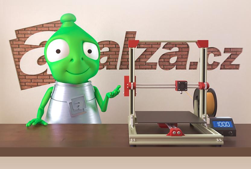Alza 3D tiskárny