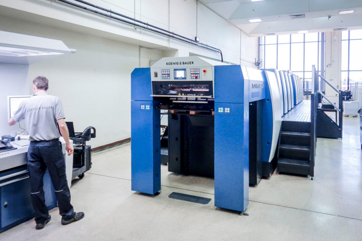 KBA tiskové stroje