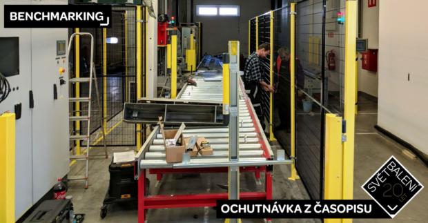 BENCHMARKING: Automatizace balení zrychluje a zlevňuje proces balení