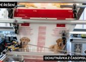 Pet food ve světle obalových reflektorů