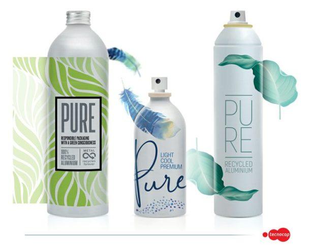 Tecnocap představuje 100% recyklované hliníkové plechovky a láhve