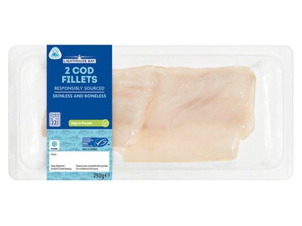 Inspirace z britského Lidlu: Udržitelné obaly na čerstvé ryby