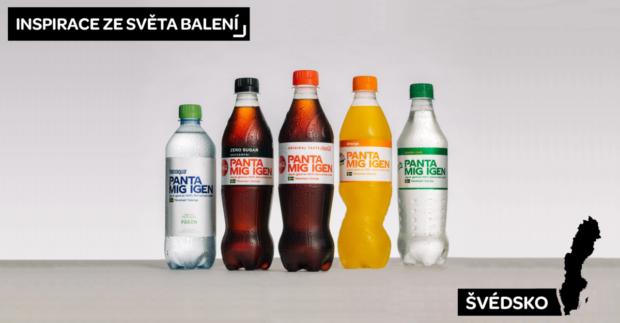 Coca-Cola Švédsko představila nové etikety na podporu cirkulární ekonomiky