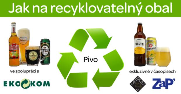 Jak na recyklovatelný obal IV: Pivo