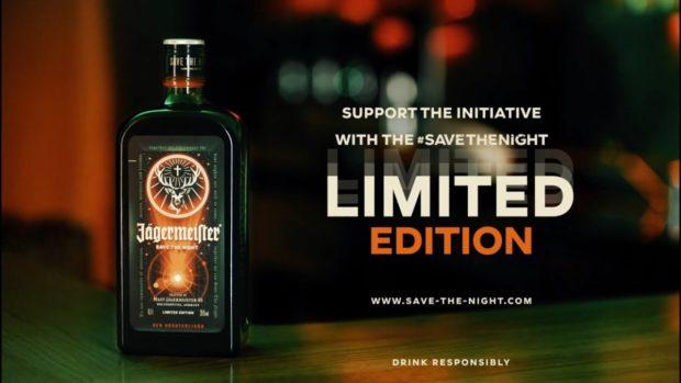 Jägermeister s novou etiketou pomáhá zachránit noční život