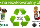 Jak na recyklovatelný obal V: Mléčné výrobky