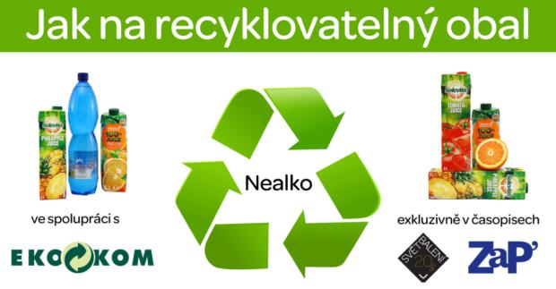 Jak na recyklovatelný obal VI: Nealko