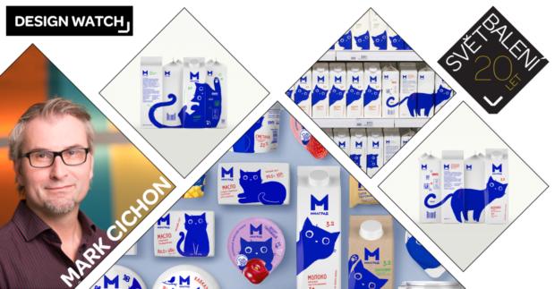 Design Watch: Řada mléčných výrobků Milgrad z Ruska