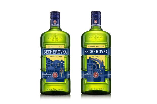 Cocoon připravil ilustrace pro limitovanou edici Becherovky