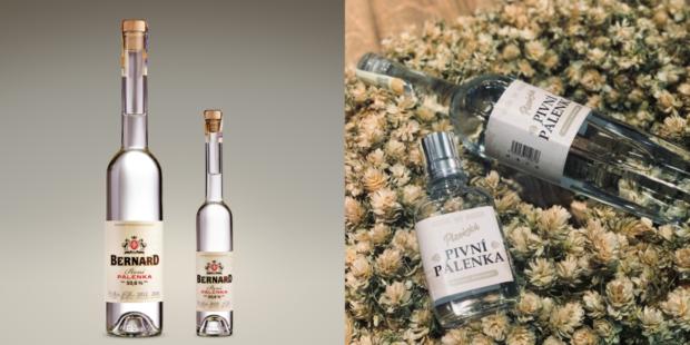 Bernard i Plzeňský Prazdroj představily limitované edice pivní pálenky