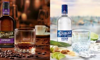 Sto let Božkova připomíná Republica Vodka a kávový rum