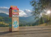 Farmářské mléko Moravia nově v nápojovém kartonu bez plastového uzávěru