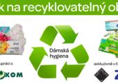 Jak na recyklovatelný obal X: Dámská hygiena