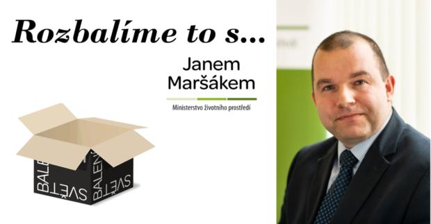 Rozbalíme to s Janem Maršákem, ředitelem odboru odpadů Ministerstva životního prostředí