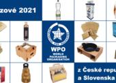 Češi a Slováci si odnesli 14 ocenění WorldStar Packaging Awards 2021