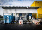 Albert postavil nové recyklační centrum v Klecanech