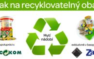 Jak na recyklovatelný obal XII: Mytí nádobí