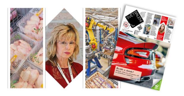 SB 110: Obaly pro maso, uzeniny a ryby; Obaly pro automotive; Chemická recyklace; Logistika pro e-shopy