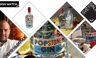 Design Watch: Pop Stone Gin s povedenou etiketou