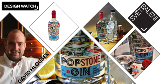 Design Watch: Pop Stone Gin s povedenou etiketou