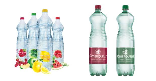 Coca-Cola přichází s dalšími vodami v lahvích ze 100% rPETu