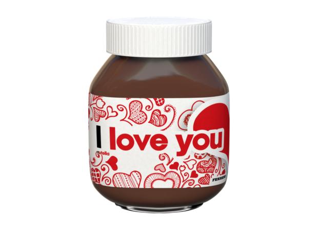 Nutella přichází s limitovanou edicí: Řekněte to vzkazem