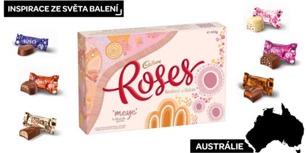 Inspirace z Austrálie: Poděkujme růžemi od Cadbury