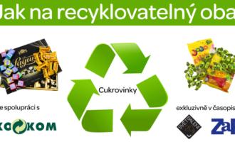 Jak na recyklovatelný obal XVI: Cukrovinky