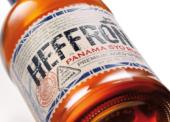 Etiketa rumu Heffron vyhrála stříbrnou medaili v soutěži A'Design Awards