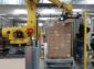 Robotické vkládání mýdel do krabice a následná paletizace