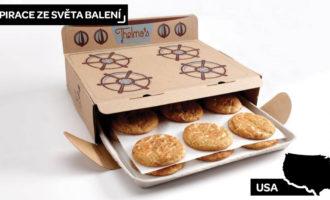 Designová krabice na cookies od Thelma's Treats
