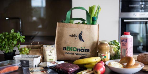 Rohlik.cz představuje první vratné nákupní tašky
