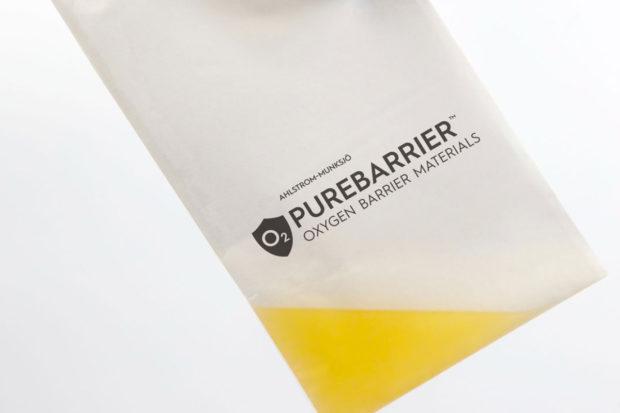 Společnost Ahlstrom-Munksjö uvádí na trh kompostovatelný celulózový obal s kyslíkovou bariérou